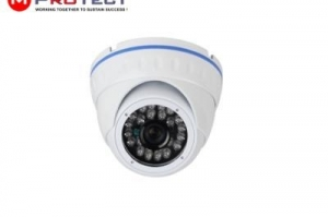 Camera dome ip cu audio si poe